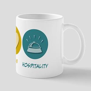 Peace Love Hospitality Mug