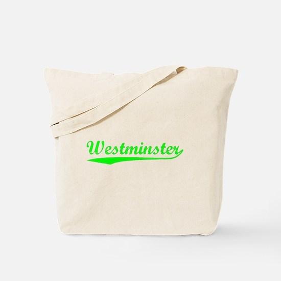 Vintage Westminster (Green) Tote Bag