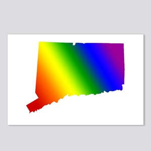 Connecticut Gay Pride Postcards (Package of 8)