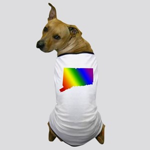 Connecticut Gay Pride Dog T-Shirt