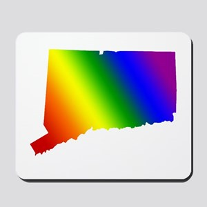 Connecticut Gay Pride Mousepad