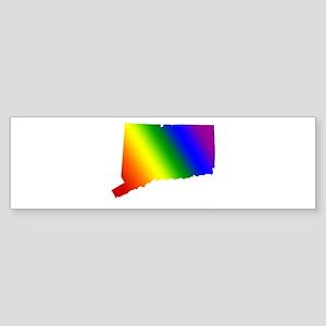 Connecticut Gay Pride Bumper Sticker