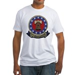 USS INDEPENDENCE Fitted T-Shirt