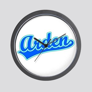 Retro Arden (Blue) Wall Clock