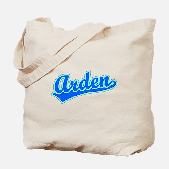 Retro Arden (Blue) Tote Bag