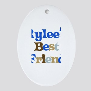 Rylee's Best Friend Oval Ornament