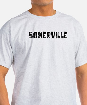 Somerville Faded (Black) T-Shirt
