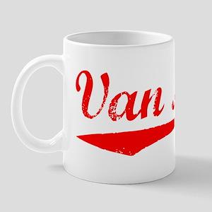 Vintage Van Nuys (Red) Mug