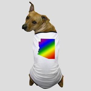 Arizona Gay Pride Dog T-Shirt