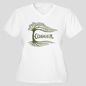 Hugger II Women's Plus Size V-Neck T-Shirt
