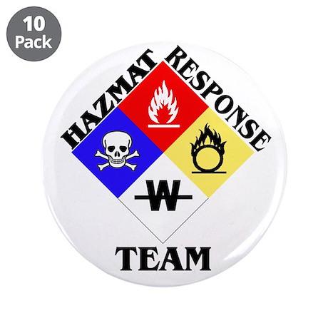 "HAZMAT Response Team 3.5"" Button (10 pack)"