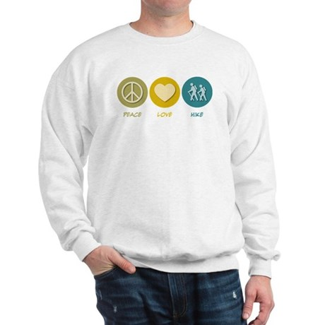 Peace Love Hike Sweatshirt