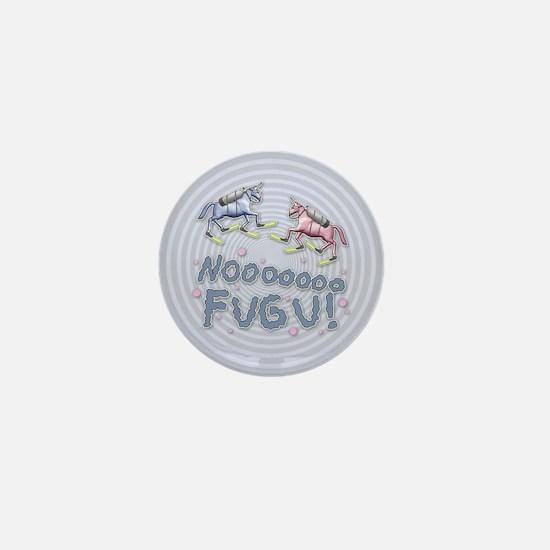NOOO FUGU! Mini Button