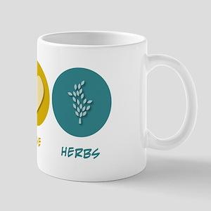 Peace Love Herbs Mug