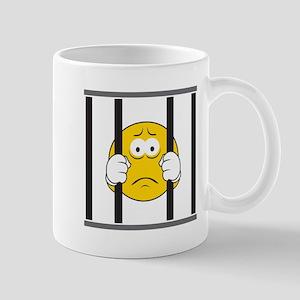 Prisoner Smiley Face Mug