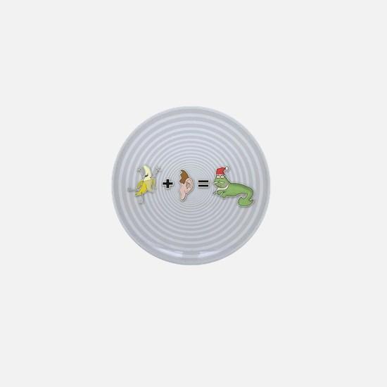Banana Plus Ear Mini Button
