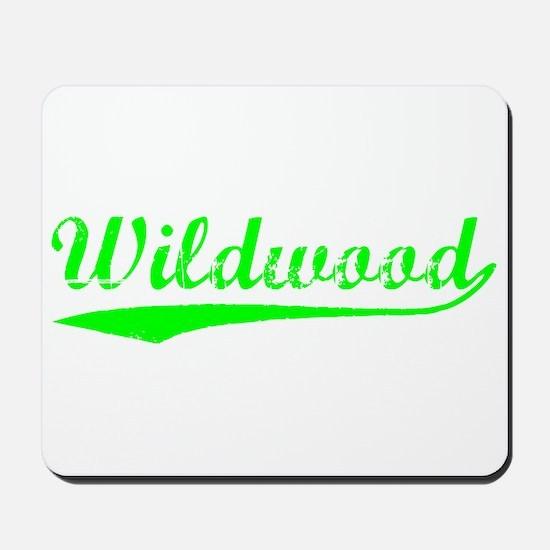 Vintage Wildwood (Green) Mousepad