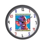 Crazy Face Wall Clock