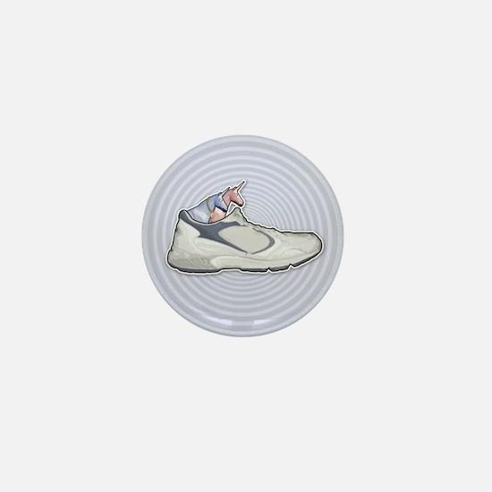 Choo Choo Shoe Mini Button