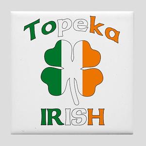 Topeka Irish Tile Coaster