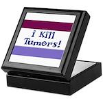 I Kill Tumors! Keepsake Box