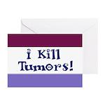 I Kill Tumors! Greeting Cards (Pk of 20)