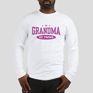 Grandma of Twins Long Sleeve T-Shirt