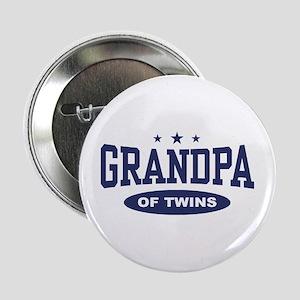 """Grandpa of Twins 2.25"""" Button"""