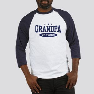 Grandpa of Twins Baseball Jersey