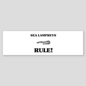 Sea Lampreys Rule! Bumper Sticker