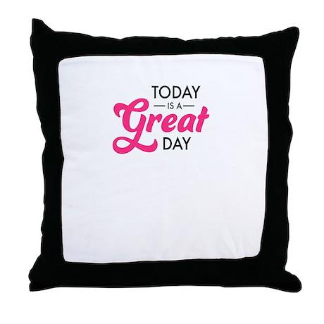 today Throw Pillow
