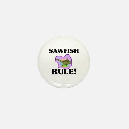 Sawfish Rule! Mini Button