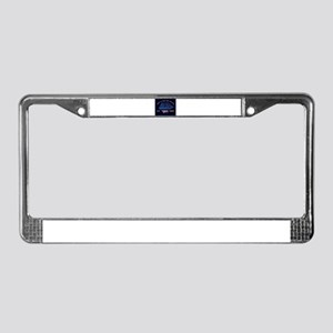 Sail charter License Plate Frame