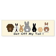 Get Off My Tail Sticker (Bumper 10 pk)
