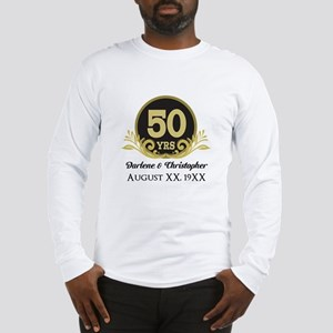 50th Anniversary Personalized Long Sleeve T-Shirt