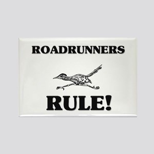 Roadrunners Rule! Rectangle Magnet