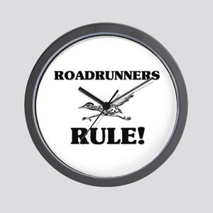 Roadrunners Rule! Wall Clock