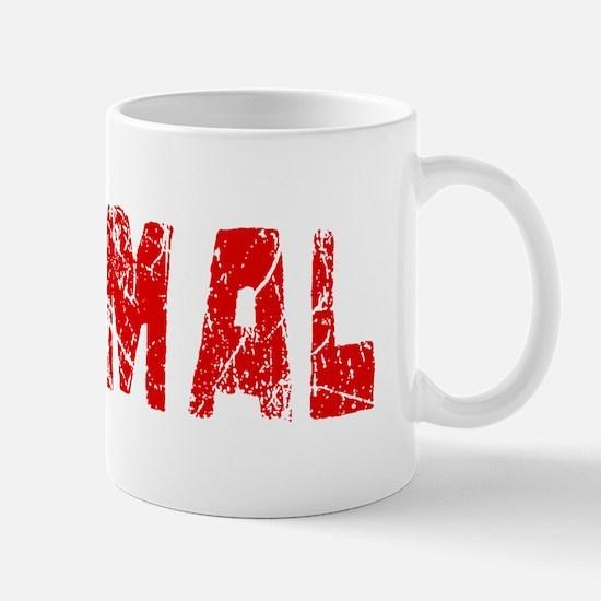 Normal Faded (Red) Mug