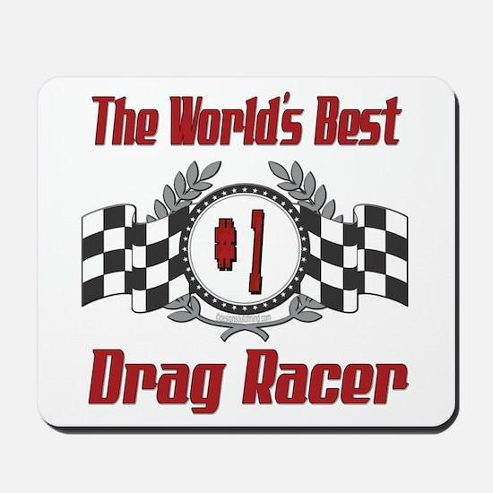 Drag Racer Mousepad