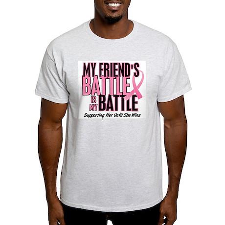 My Battle Too 1 (Friend BC) Light T-Shirt