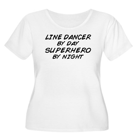 Line Dancer Superhero by Night Women's Plus Size S