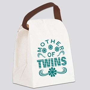Twins mom Canvas Lunch Bag