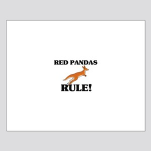 Red Pandas Rule! Small Poster