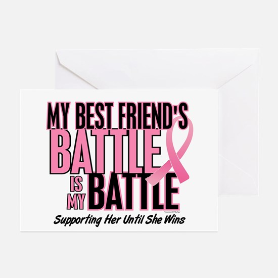 My Battle Too 1 (Best Friend BC) Greeting Cards (P