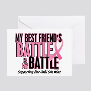My Battle Too 1 (Best Friend BC) Greeting Card