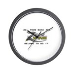 All Your Base Are Belong To Us Wall Clock