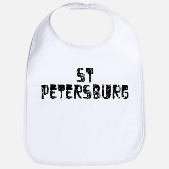 St Petersburg Faded (Black) Bib