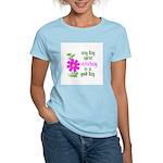 Any Day Spent Stitching - Goo Women's Light T-Shir
