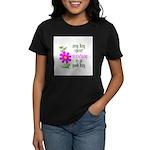 Any Day Spent Stitching - Goo Women's Dark T-Shirt