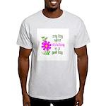 Any Day Spent Stitching - Goo Light T-Shirt